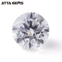 1-2.0 mm Carat Excellent Round Brilliant Cut HPHT CVD Lab Grown Loose Diamond Polished