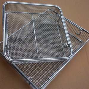 Factory!!!!!!!! KangChen Medical apparatus and instruments cleaning baskets /Durable medical cleaning autoclave box baskets