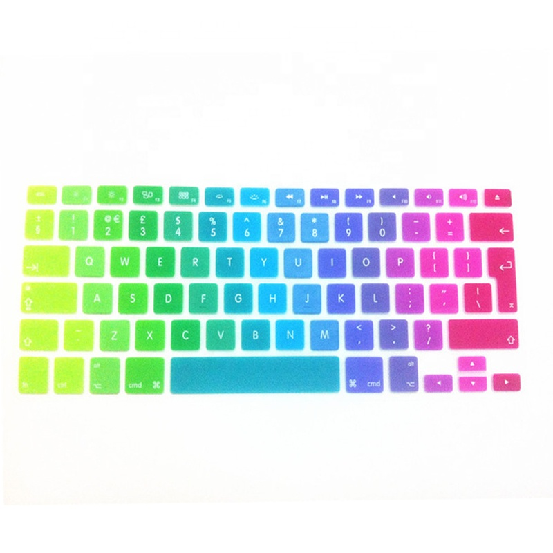Bunte tastatur film tablet tastatur fall gaming tastatur