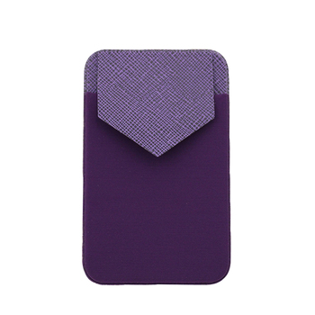 Custom Logo Wallet Adhesive Cell Phone Holder Lycra Credit Card Holder For Phones