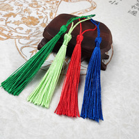 13cm/5 Inch Silky Floss Bookmark Tassels with 2-Inch Cord Loop