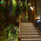 wall artificial grass interior decor suitable for large shopping mall hotels as viewing screens artificial plant wall