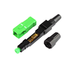 Hot Fiber Optic connector FTTH Fiber Optic 3m SC APC Fast Connector with fiber optic equipment