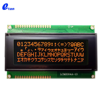 15 years factory price Rohs custom monochrome 20 4 20x4 character LCD 2004 lcd display module