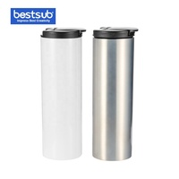 Wholesale Custom Sublimation 500ml White Stainless Steel Flask Water Bottle BWH11W