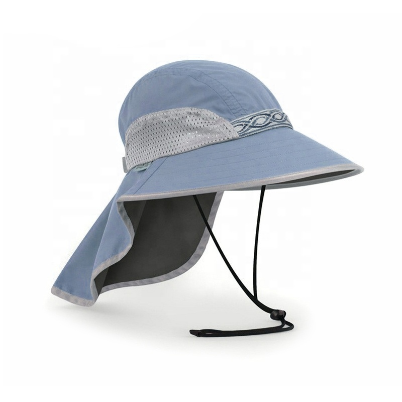 11b3f0a6 China factory custom safari fishing hat uv protection upf flap sun hats  with neck cover