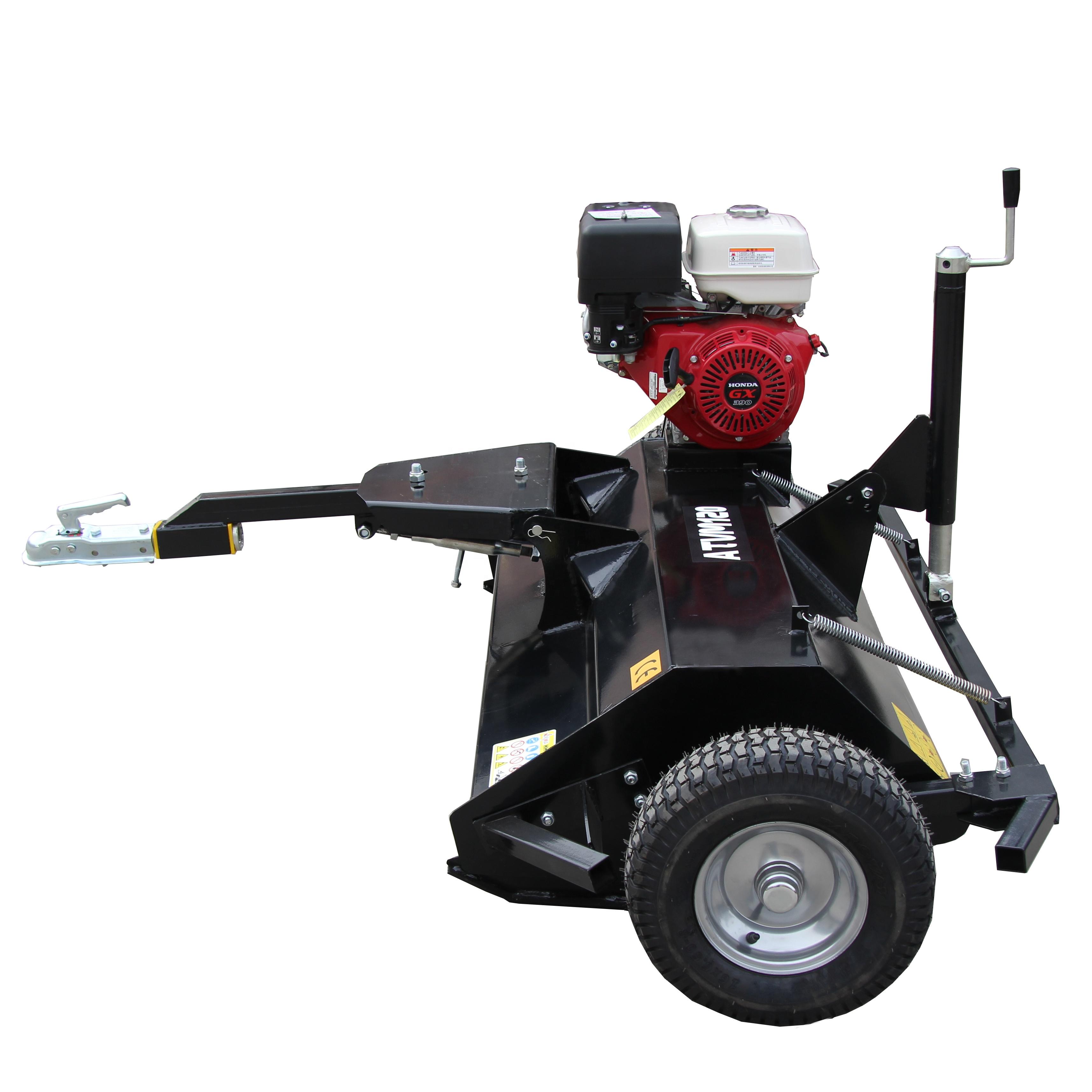 Factory Price Gasoline Power ATVM120 Flail Mower for ATV