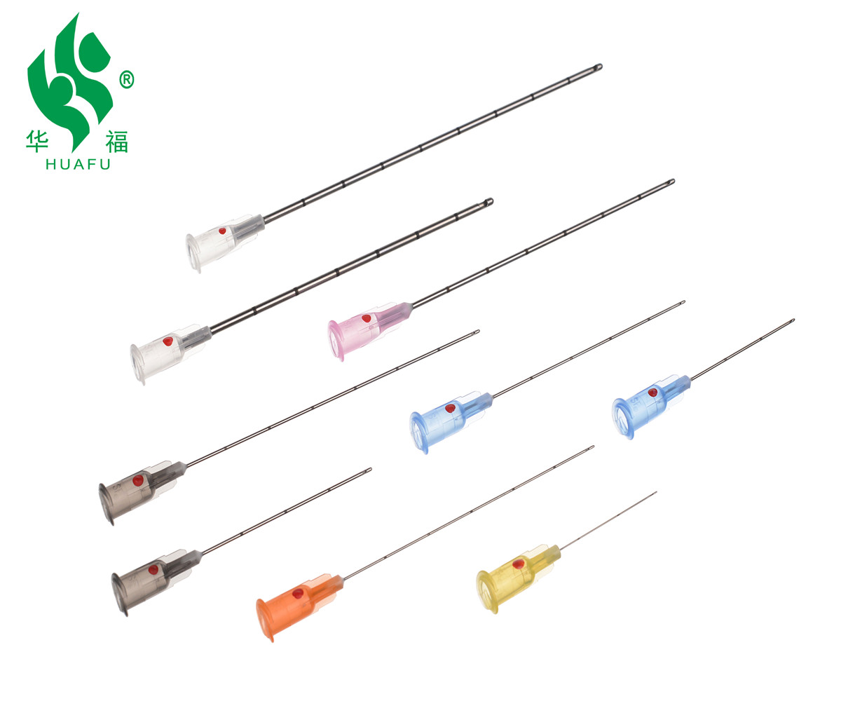 Disposable Medical cosmetic micro cannula needle