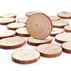 wholesale custom natural eco-friendly wooden slices large pine thin wood round discs for DIY crafts decoration