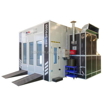 Hot Sale Industrial Used Car Spray Booth for sale, Cabinet Furniture Car Spray Booth