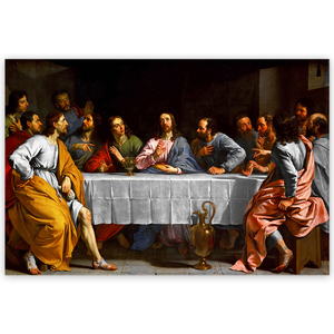 Famous artist artwork hotel decor jesus the last supper 3d lenticular picture