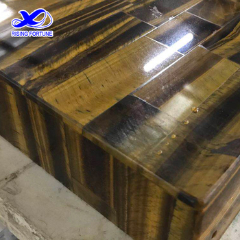 Tiger Eye Stone Bar Top