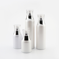 30 50 120 150 ml makeup plastic vacuum packaging lotion cream spray frosted acrylic airless cosmetic bottle with pump