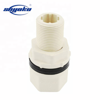 Plumbing thread CPVC/PVC union pipe fitting water tank fitting