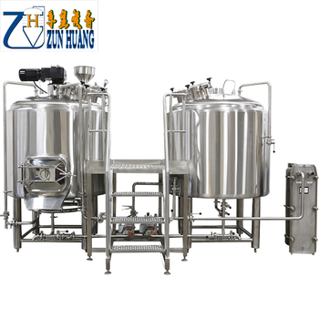 2BBL beer factory commercial mash tun beer brewing kettles for sale