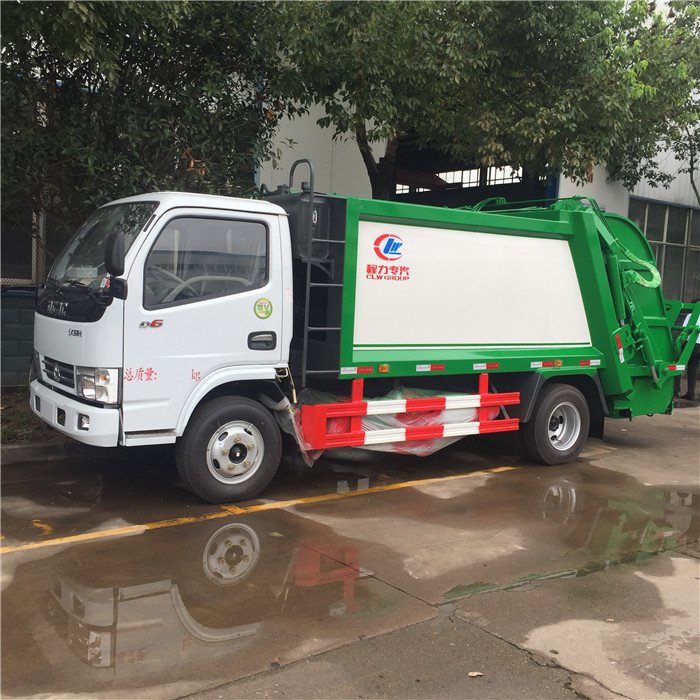 2019 New Model 2TONS Hydraulic Garbage Compactor Machine Garbage Truck