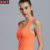 OEM Wholesale Fitness Clothing Custom Neon Color Women Racerback Yoga Tank Top Ladies Blank Gym Vest Singlet
