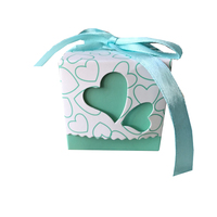 Personalized Cute Wedding Favour Candy Packaging Box