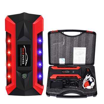 14000mah real capacity lithium battery portable power bank car jump starter without air compressor