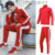 Custom wholesale sports tracksuits for men design your own unisex gym track suit