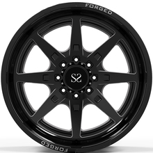 22x10, 22x12, e 22x14 Gloss Nero <span class=keywords><strong>Fresatura</strong></span> di Windows 4x4 <span class=keywords><strong>Ruote</strong></span>/Labbro Profondo Forgiato Off Road Cerchi 8x165.1