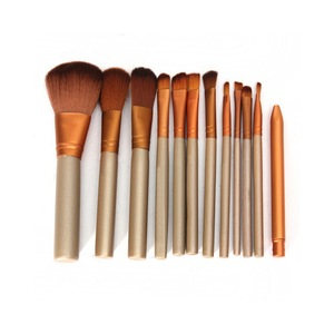 12pcs cosmetic brushes makeup kit synthetic hair makeup brush set gift makeup brush set