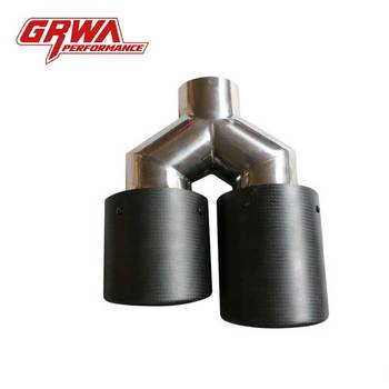 Chinese Gold Supplier Grwa Hot Sales High Quality Automobile Carbon Fiber Exhaust Tips For Amg Mercedes Benz