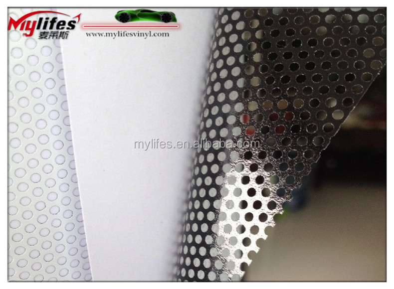 One Way Vision Perforated Vinyl Film For Windows See