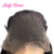 Ombre 100% human hair highlight color 1b/4/27 front lace wig