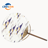 Marketing and promotional bamboo frame manual hand fan