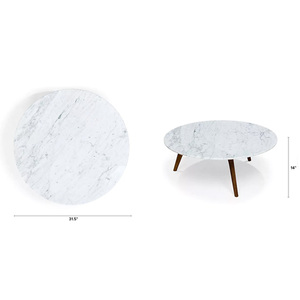 Coffee stone round table and round dining table top