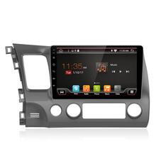 Android araba <span class=keywords><strong>multimedya</strong></span> <span class=keywords><strong>gps</strong></span> Honda Civic 2006-2011 için Araba video Oynatıcı Bluetooth Radyo WIFI Stereo IPS