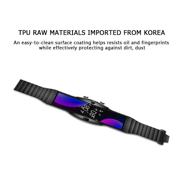 Shenzhen factory supply directly soft TPU screen guard smart watch protector for Nubia alpha Smart watch