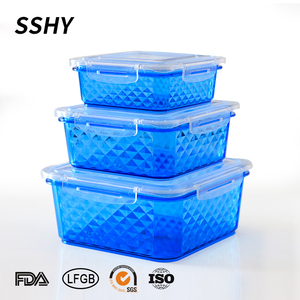 Chinese Supplier Food Grade pp Food Plastic Container Takeaway Storage Box