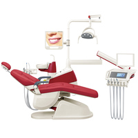 dental chair with microscope
