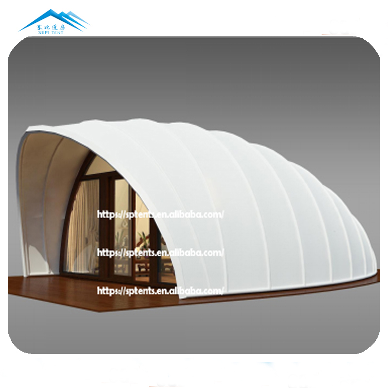 Easy quick assembly custom outdoor glamping tent suites luxury safari hotel tent