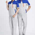 Summer Comfortable unisex overall factory work suit/work clothes/uniform