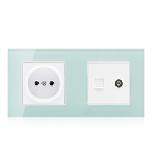 Multi function phone computer port electrical 16a wall socket outlet