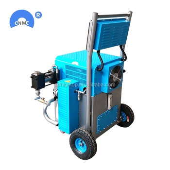 open cell pu mixing polyurethane foam spraying machine for fireproof