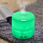 Customized fogger maker portable romantic led light color ultrasonic mushroom fog air humidifier