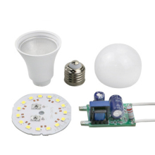 Skd Onderdelen 5-18 W 9W Lamp Aluminium Pc Behuizing 2835 Smd <span class=keywords><strong>Led</strong></span> Chip Skd <span class=keywords><strong>Led</strong></span> Lamp Ruwe materialen