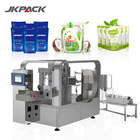 Automatic weighing liquid food filling sealing plastic packet detergente milk pouch packing bags machine