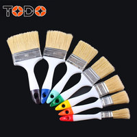 TODO brush colorful ending hog bristle bulk wall paint brushes