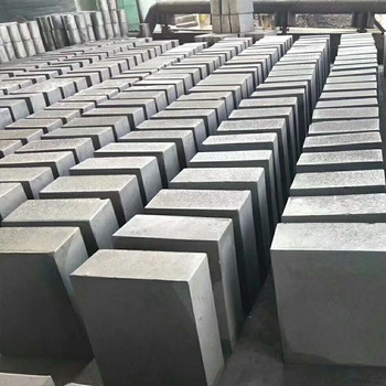 High pure high density carbon graphite block