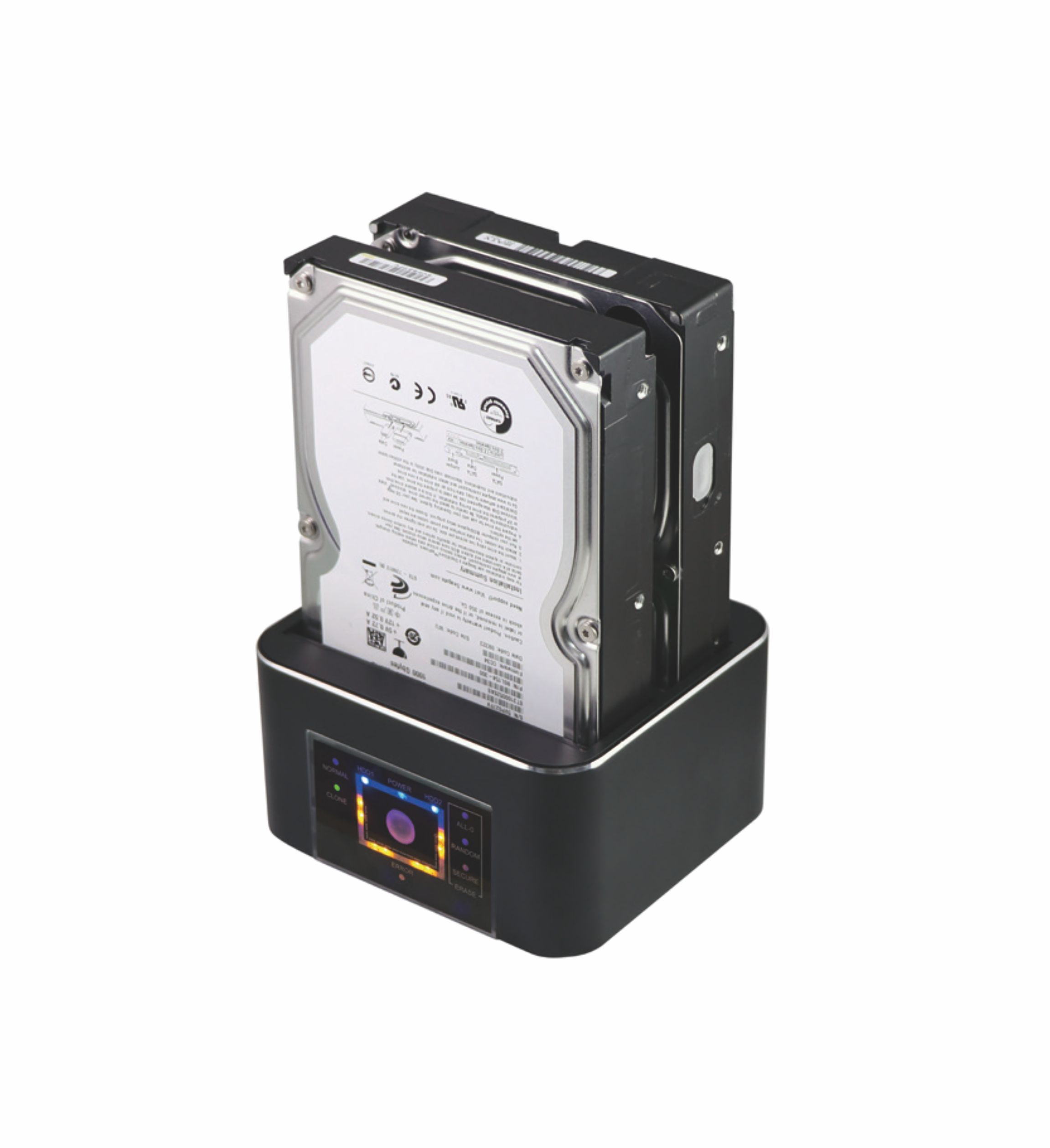 factory 3bay sata hdd docking station with clone and erase