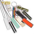 Cheap custom logo metal keychain with wholesale blank keychains