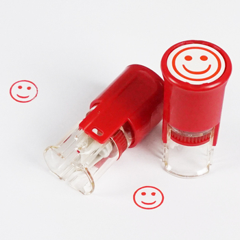 Office Supplies smiling face Stamp making machine custom stamp