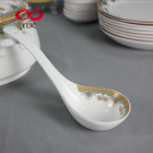 Wholesale 2019 Hot New Products Made in China Bone Tableware 51 Pcs Royal Gold