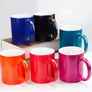 Top Quality Promotion Cheap Bulk custom Ceramic color changing Mug