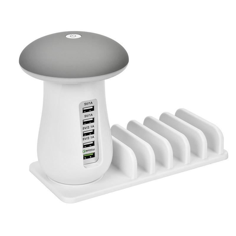 Mushroom charging station multi car charger 4 usb